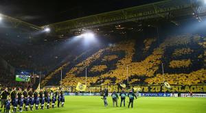 Borussia Dortmund yellow wall