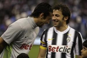 Buffon e Del Piero