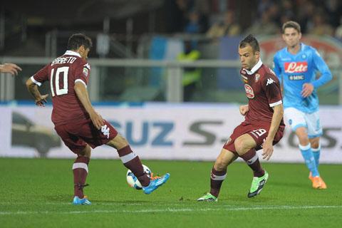 Torino vs Napoli - Campionato Serie A 2013/2014
